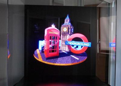 LED 3D Fan